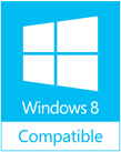 123 Free Solitaire is fully compatible with Windows 8
