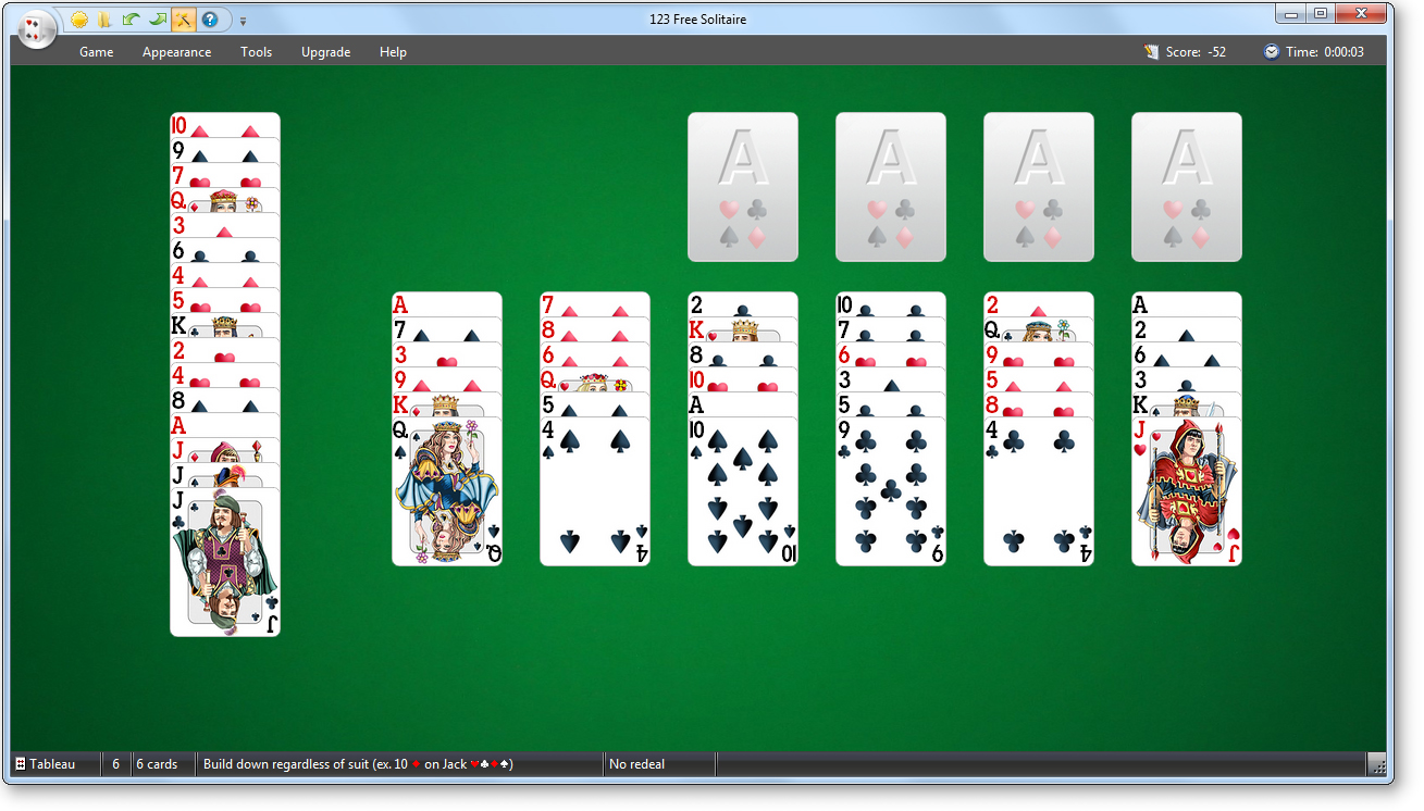 solitaire 123