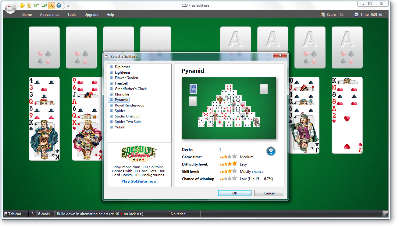 FreeGamr: 123 Free Solitaire 2011 - Free Download